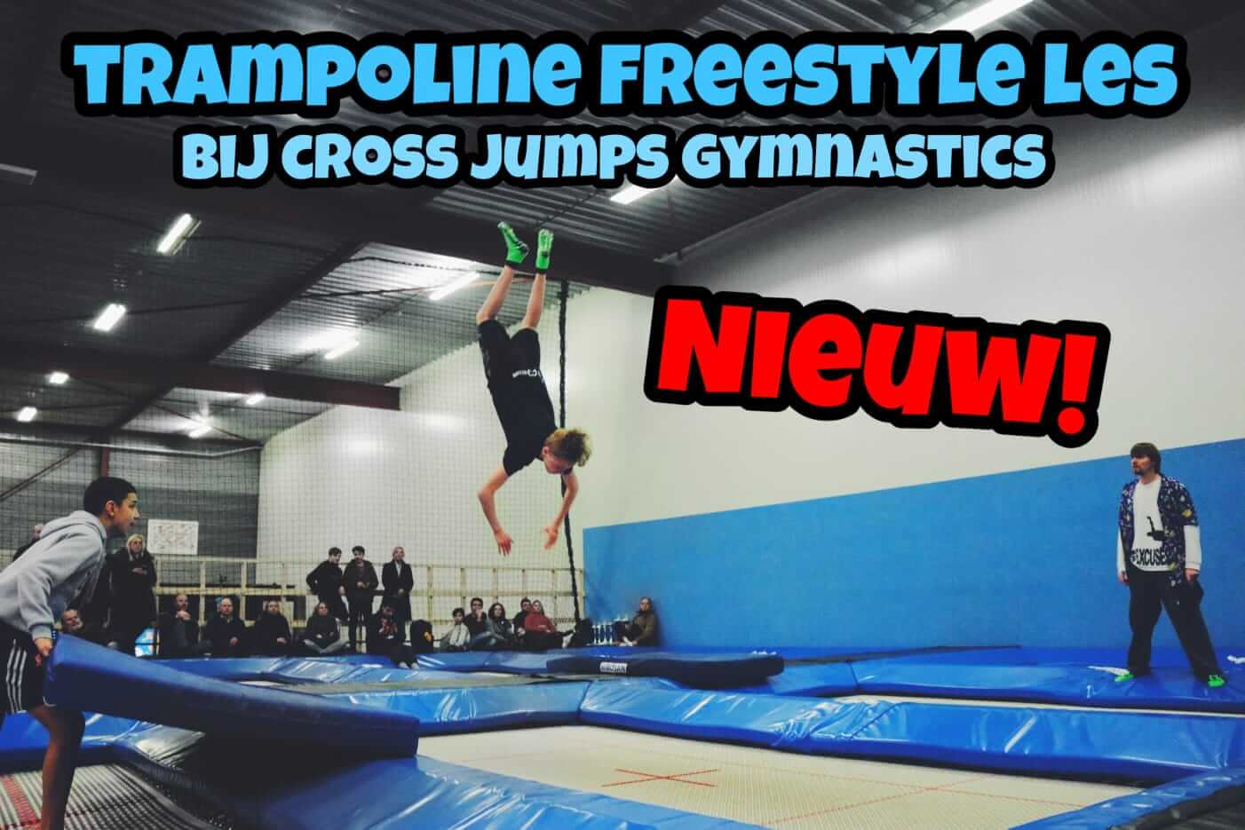 Freestyle trampolines Coss Jumps Gymnastics