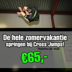 zomeractie Cross Jumps