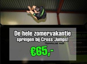 zomeractie Cross Jumps