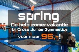 zomeractie Cross Jumps gymnastics