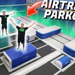Freerun airtrack baan