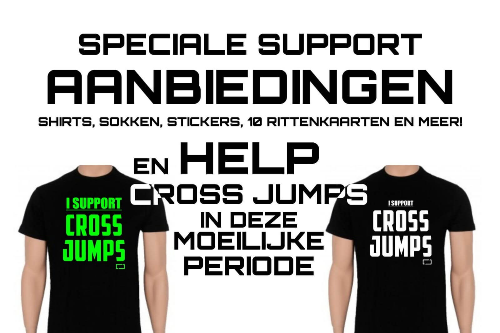 i support cross jumps