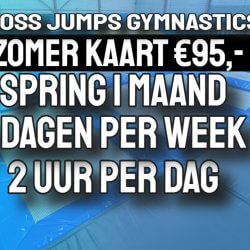 zomer kaart cross jumps