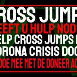 help cross jumps door de corona