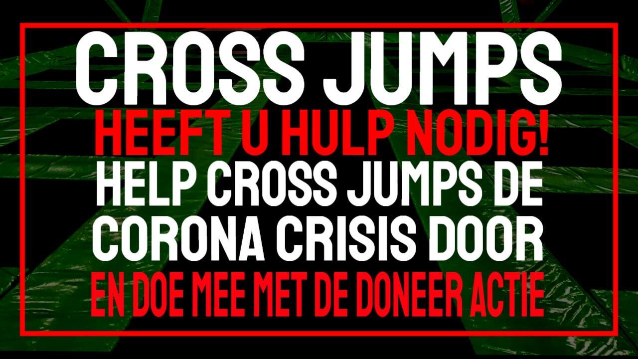 help cross jumps door de corona